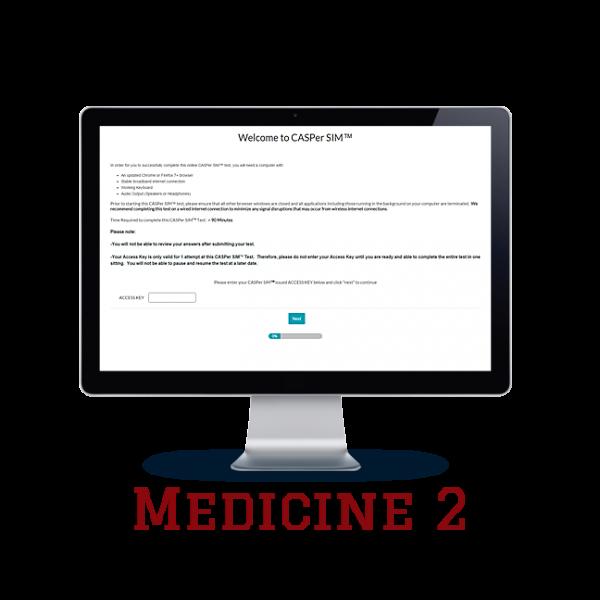 Full Length APE CASPer SIM 2 – Medicine w/out Scoring