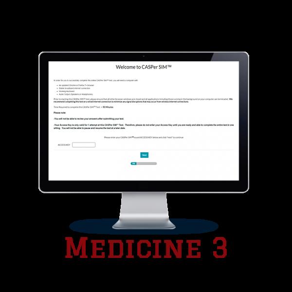 Full Length APE CASPer SIM 3 – Medicine w/out Scoring