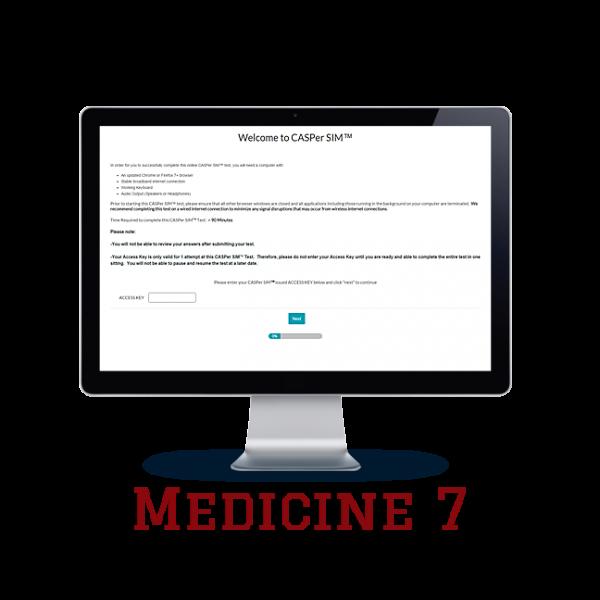 Full Length APE CASPer SIM 7 – Medicine w/out Scoring