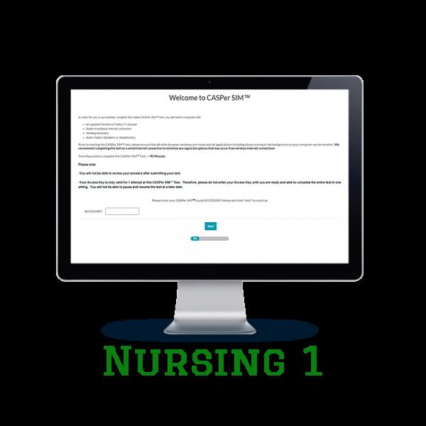 Full Length APE CASPer SIM 1 – Nursing w/out Scoring