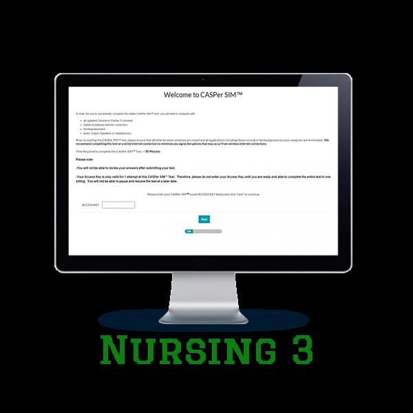 Full Length APE CASPer SIM 3 – Nursing w/out Scoring