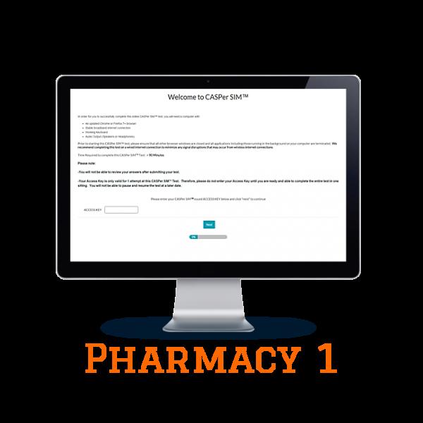 Full Length APE CASPer SIM 1 – Pharmacy w/out Scoring