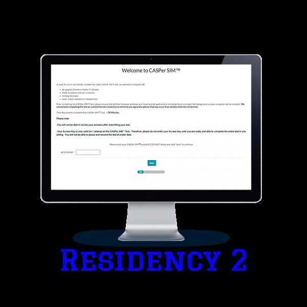 Full Length APE CASPer SIM 2 – Residency w/out Scoring
